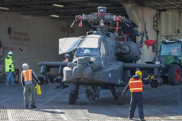 US AH-64 Apache in Europe