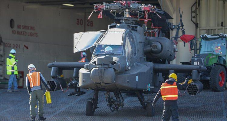 US AH-64 Apache in Europe