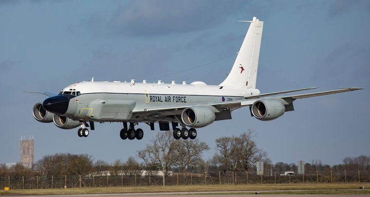 RAF RC-135W Rivet Joint