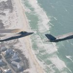 USAF F-22 and F-35 Tyndall AFB