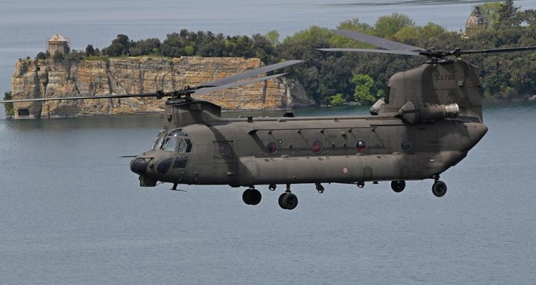 CH-47F Chinook 1st Italian Army Aviation Reggimento Antares