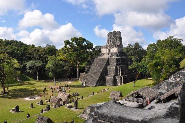 ancient ruins Tikal, Guatemala