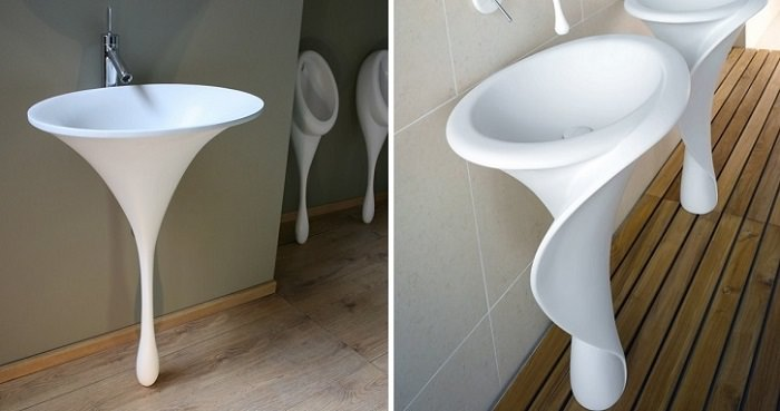 the most unusual and interesting bathroom sinks | design