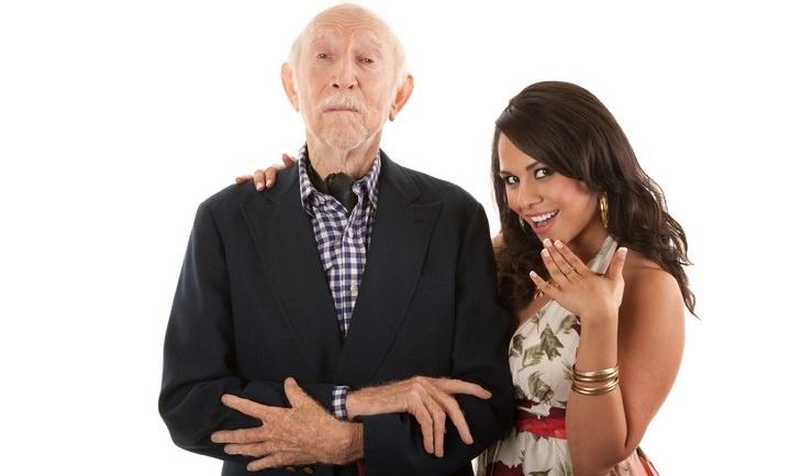 old couple, remarry, joke