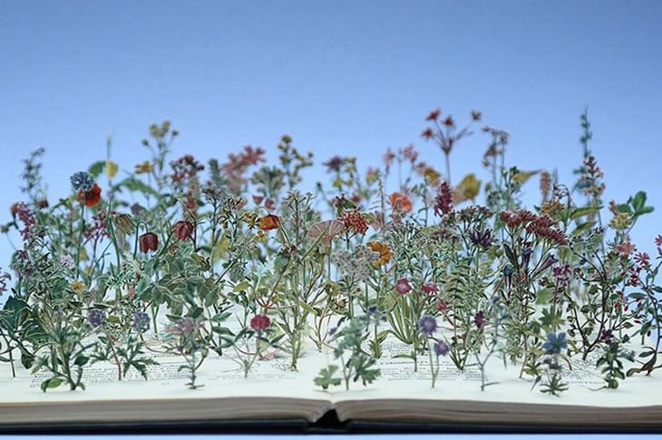 art, Su Blackwell, book art
