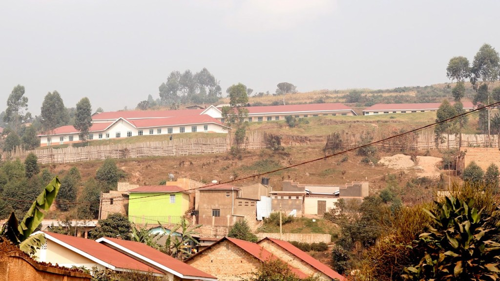 Archive image: The heights of Kabale where the schools are located, 170713