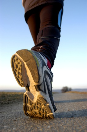 Walk and lose fat on cold days
