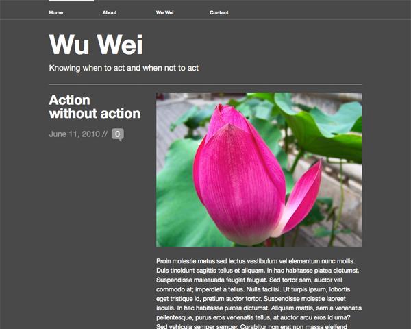 Wu Wei ダークカラーバージョン