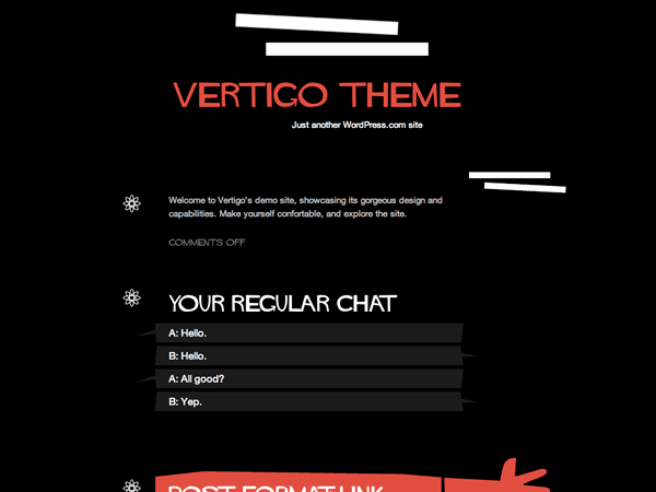 New Theme: Vertigo