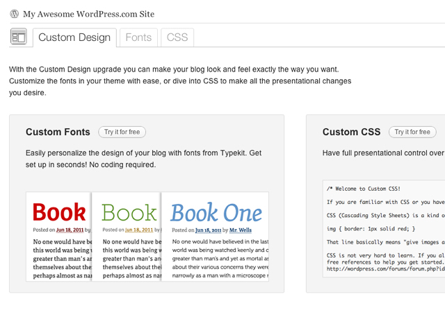 Personalize Your Blog with the New Custom Design Upgrade