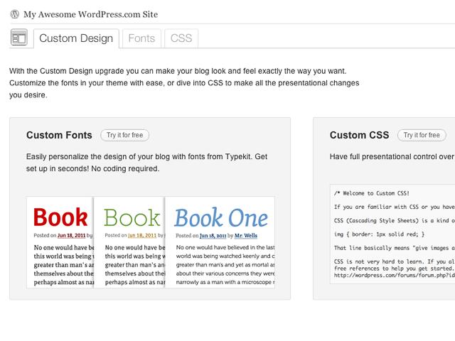 Personaliza tu blog con Custom Design, nuestra nueva mejora