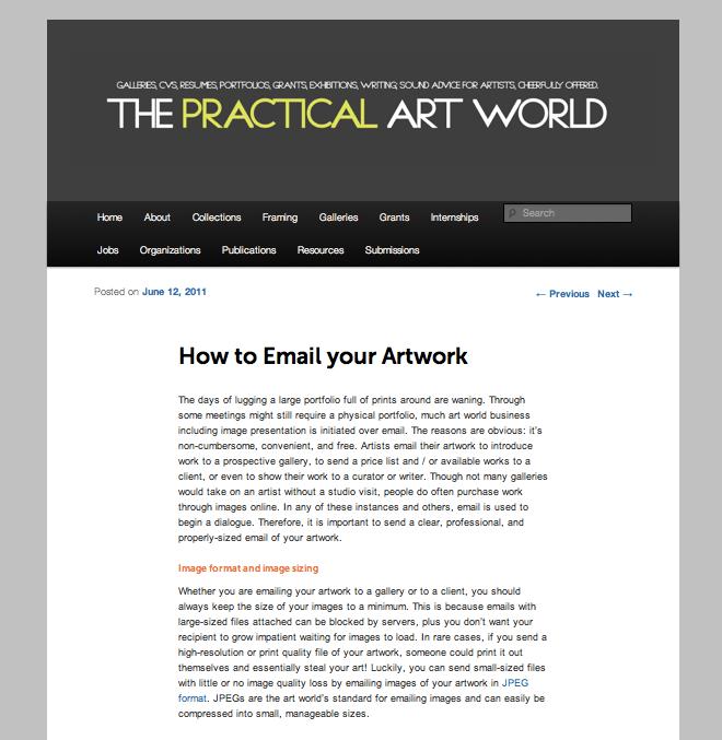 thepracticalartworld.com