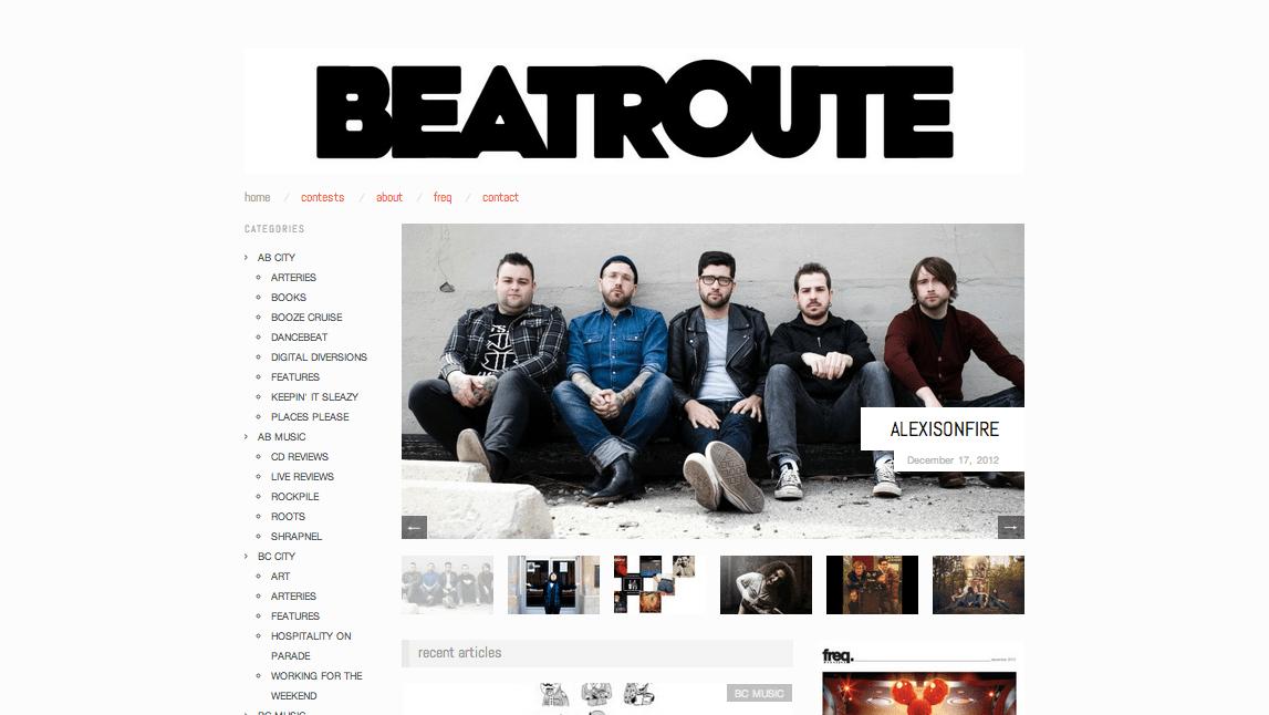 BeatRoute Magazine