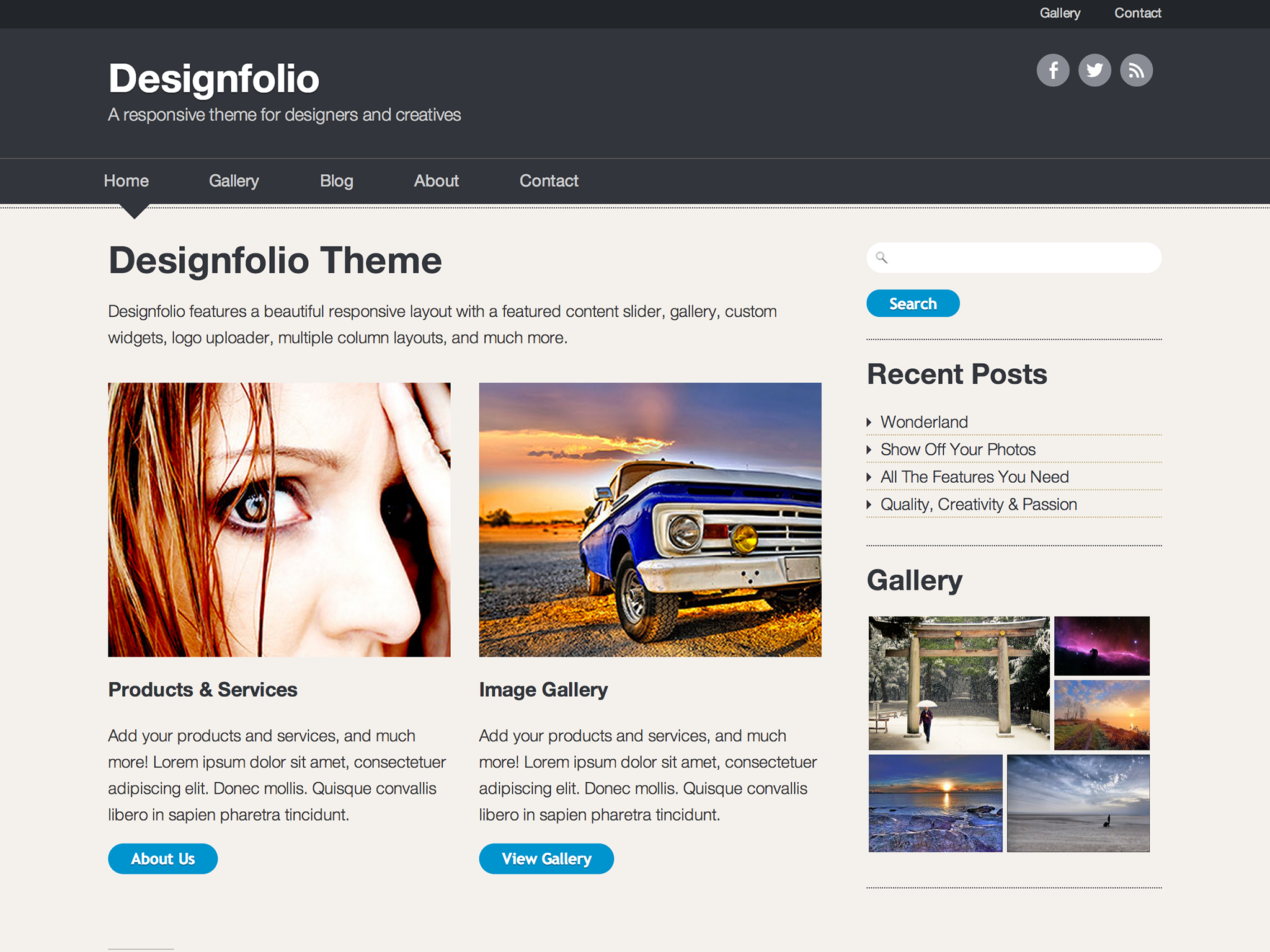 Designfolio by Press Coders
