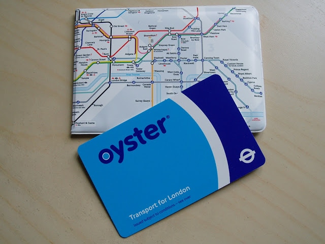 The Oyster Card in London offers a range of transportation services