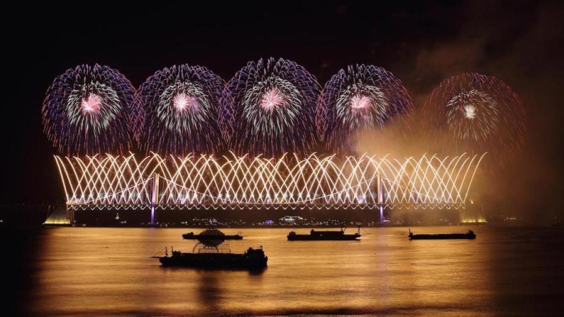 Busan, Korea: Busan International Fireworks Festival