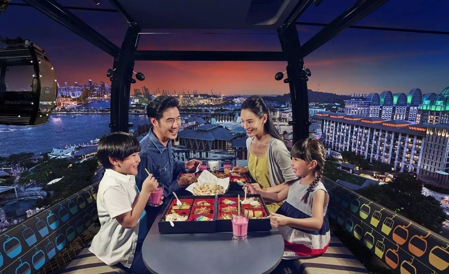 Singapore Cable Car Sky Dining