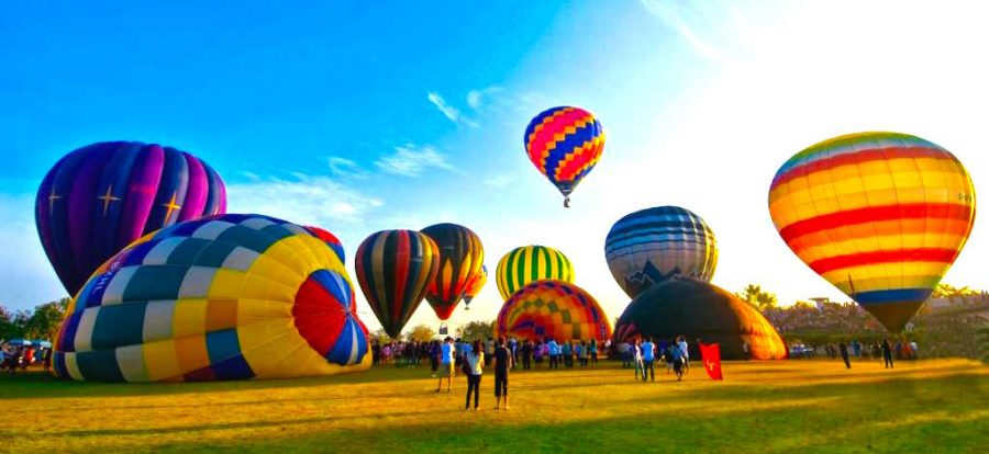 Hot Air Balloon Festival Chiang Mai