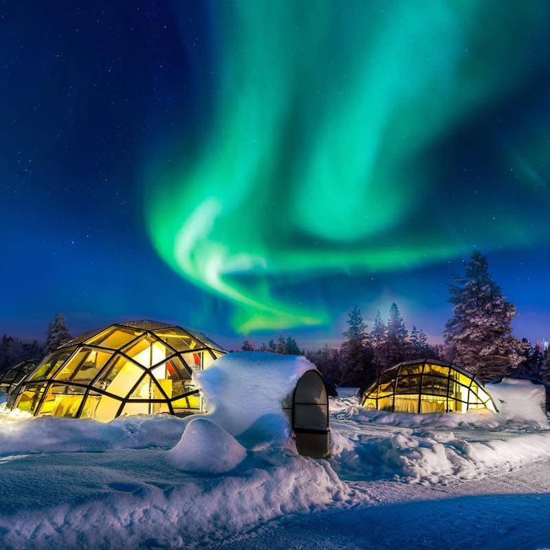 Coolest Hotels to Fall Asleep Watching the Northern Lights In