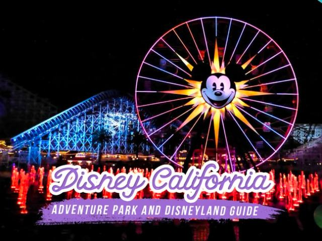 Beginner's Guide to Disney California Adventure Park and Disneyland
