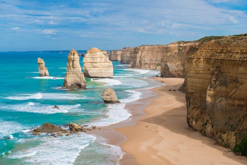Australia in Winter Great Ocean Road