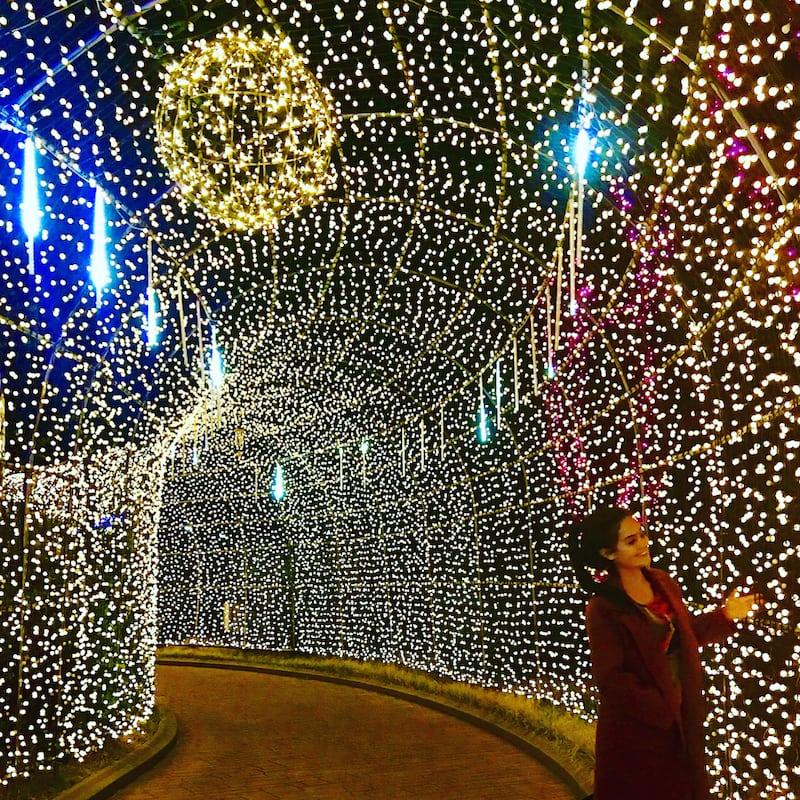 Korea Winter Vacation Idea: Take in the Light Show at LetsRun Park, Busan