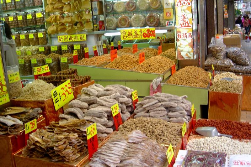 Hong Kong Markets: Dried seafood street and tonic street