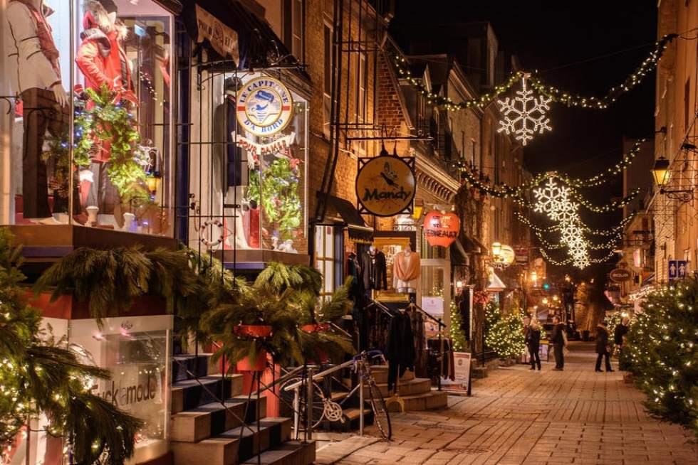 Christmas Vacation Ideas for Couples: Montreal