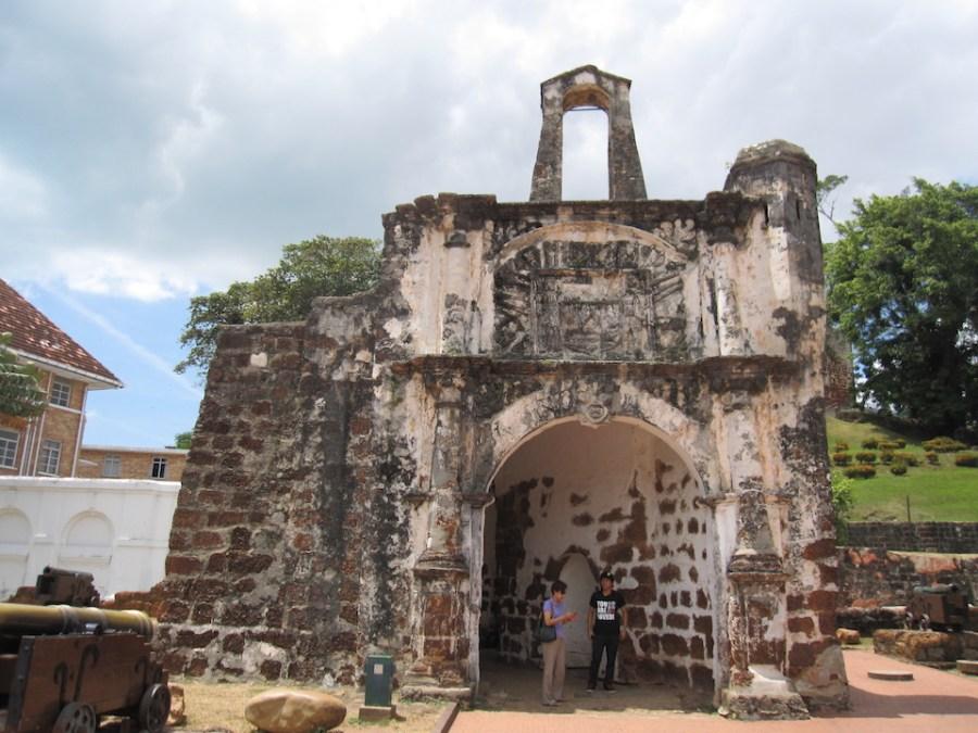 Malacca, Malaysia: Porta de Santiago