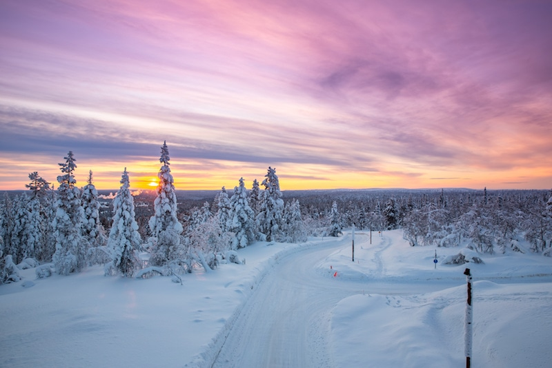 Winter Vacation Destinations: Rovaniemi, Finland