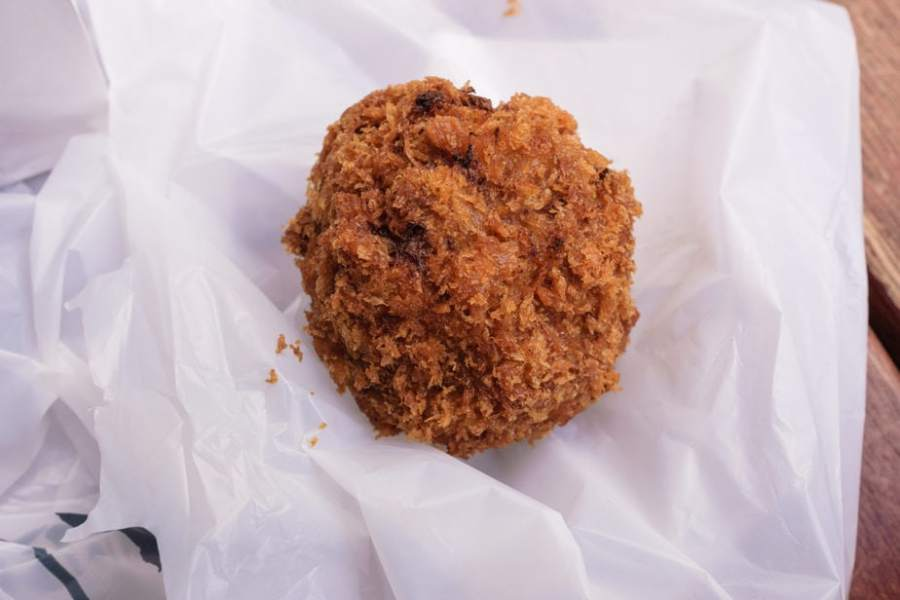 Satou Beef Balls: Tokyo, Japan snacks
