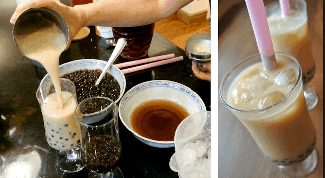 Try authentic Taiwanese Bubble Milk Tea in Taiwan