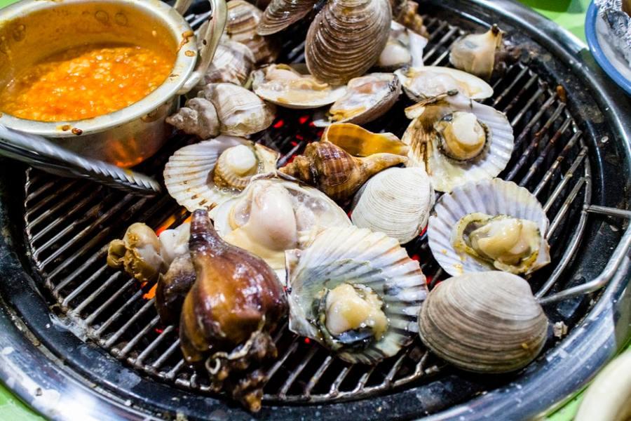Busan, Korea: Fresh Seafood