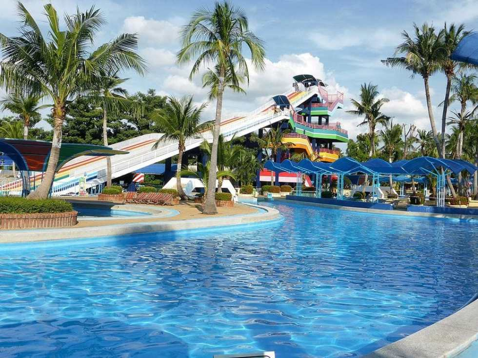 Siam Park City, Thailand: Wave Pool