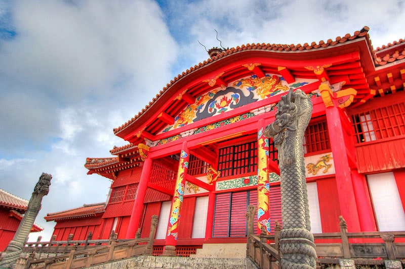 Things to do in Okinawa During Winter: Shuri Castle