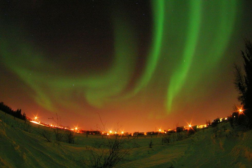 New Year's Eve Family Vacations: Northern Lights at Yellowknife, Canada