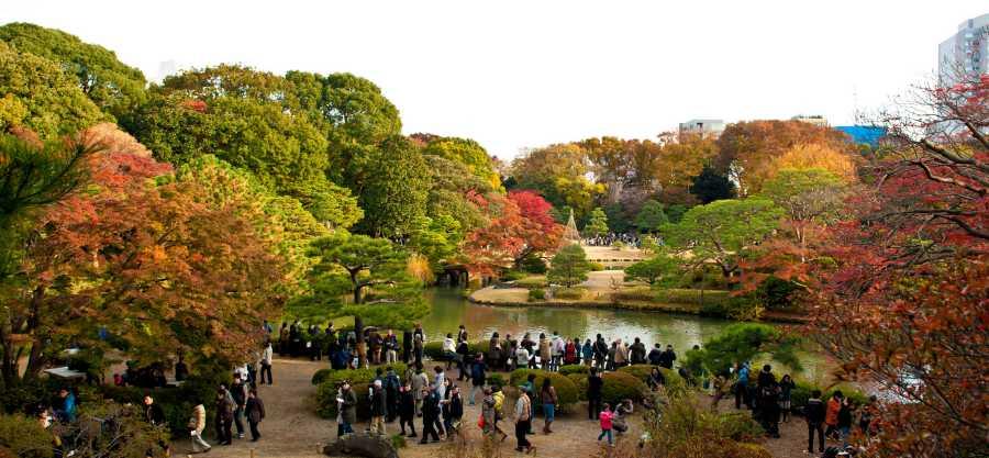 Rikugi-en Garden (image via Kyle Hasegawa, Flickr)