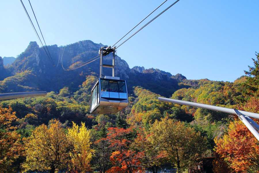 Seorak Cable Car: Seoraksan National Park
