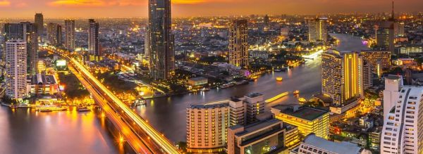 Bangkok, Thailand: Riverside Nightlife