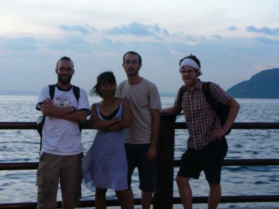 The team- backpacking Japan hacks. Photo credit: Norina Masaki-Joyce