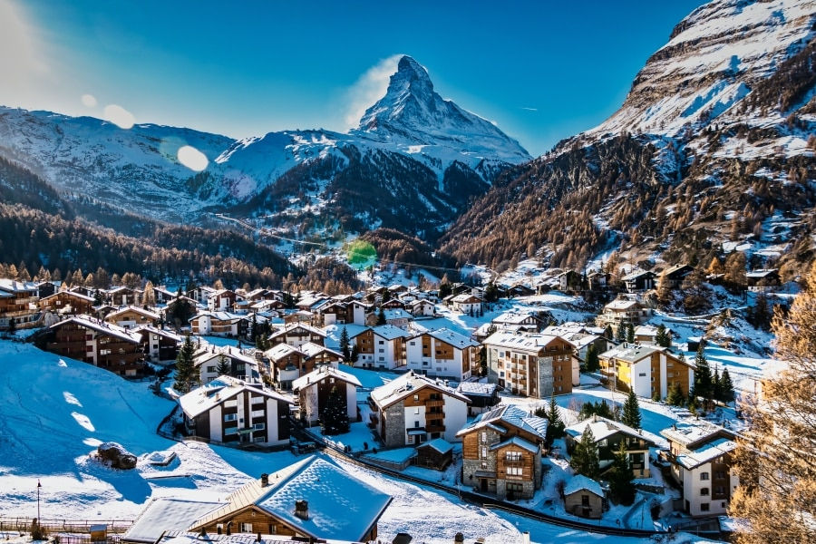 Matterhorn and Surrounding Towns