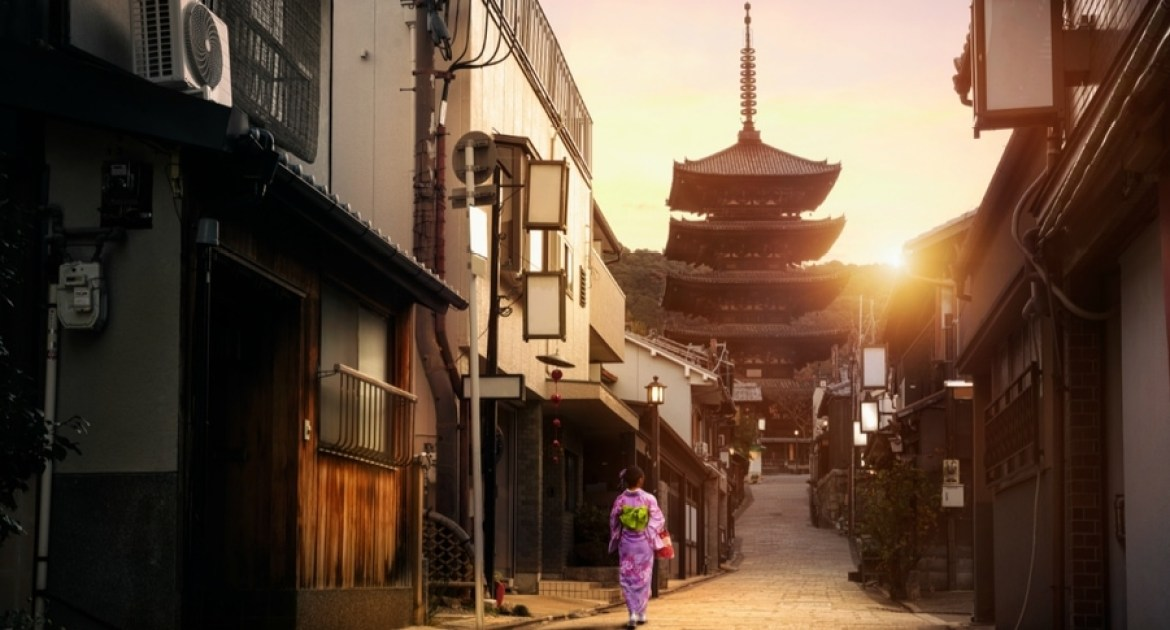 Getting the Full Kyoto Experience
