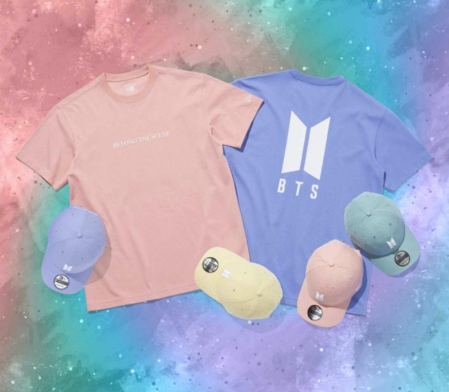 BTS Caps & T-shirts