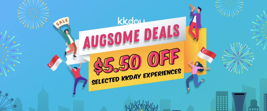 Enjoy $5.50 Off On KKday's Best-Selling Products With AUGsome Deals!