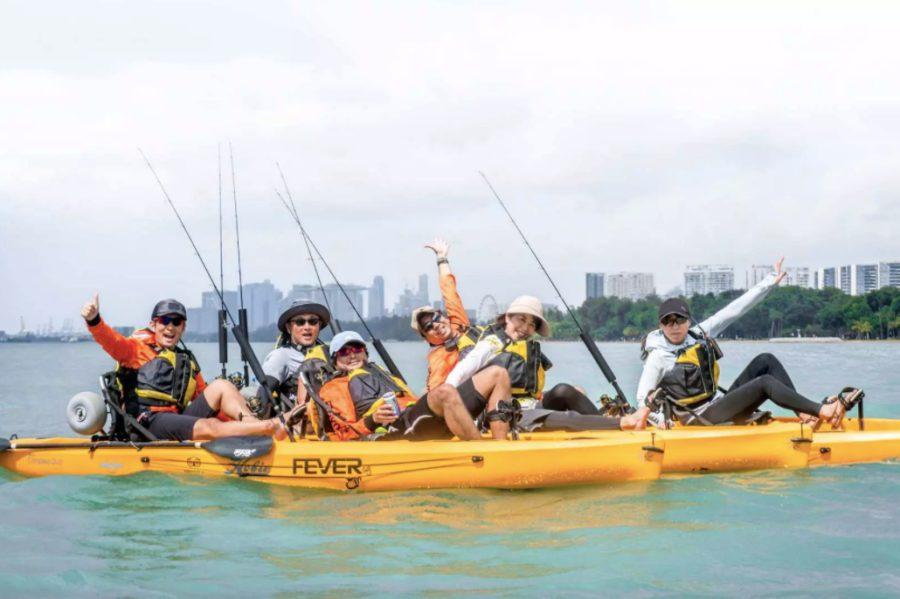 Kayak Fishing Experience with KKday Singapore