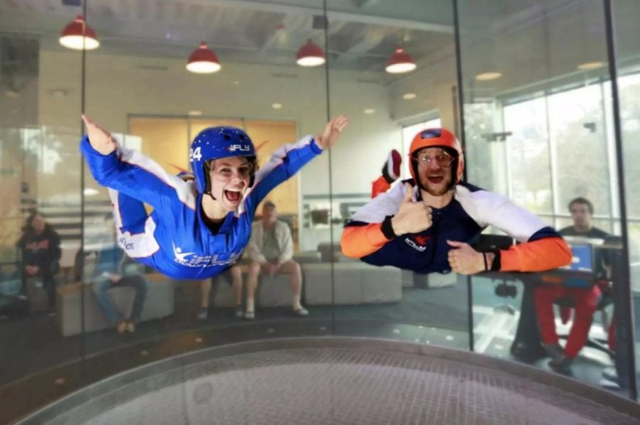 Sky Dive At iFly Sentosa