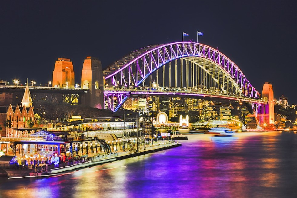 Romantic New Year's Eve Vacation Ideas for Couples: Sydney Harbour Cruise