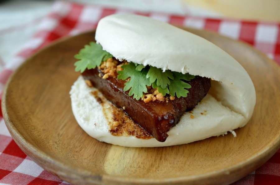 delicious Pork belly bun