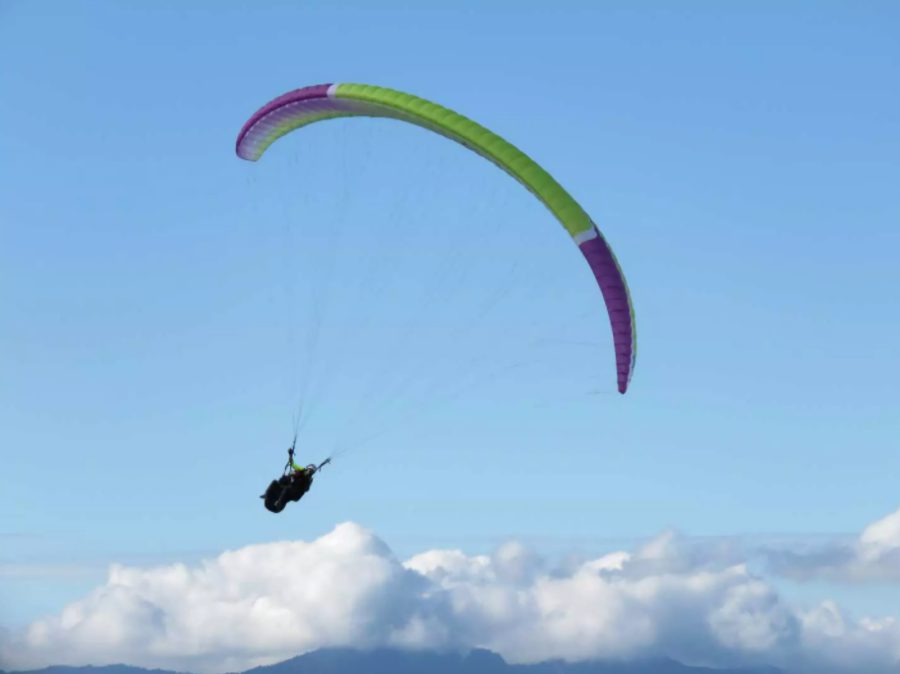 Outdoor activities in Taiwan - Paragliding in Nantou or Hualien
