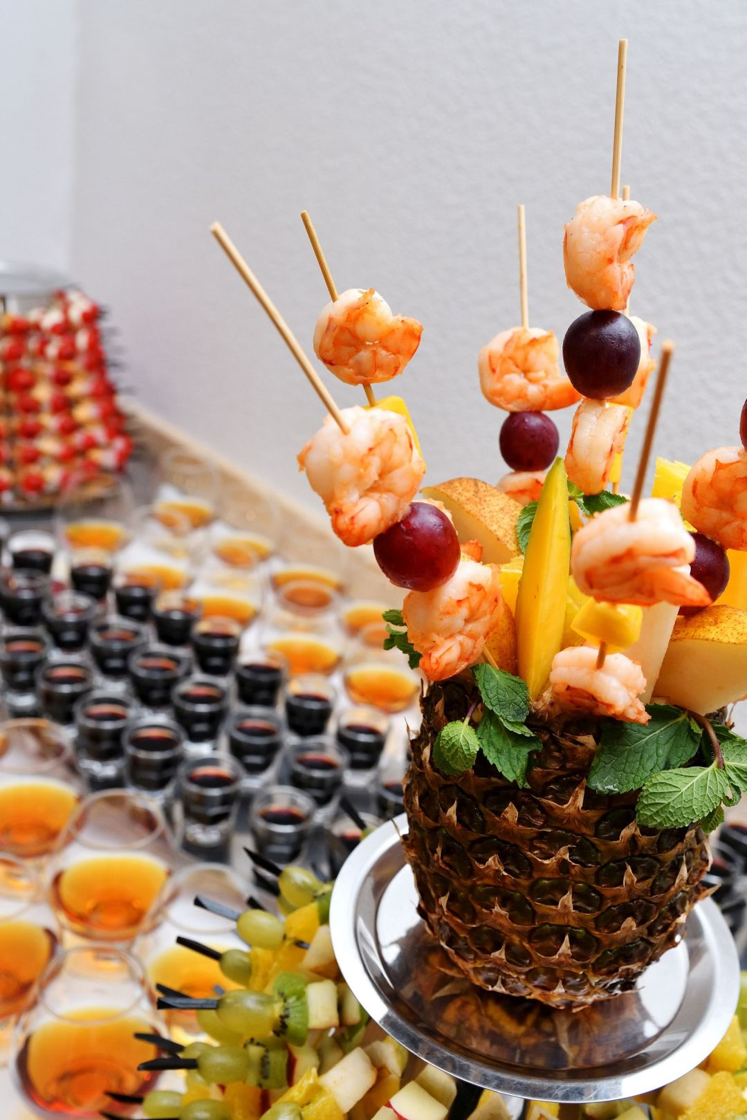 Canapes & Pineapple
